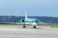 Aircraft in Marseille Airport, Provence, France